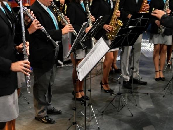 Cerimonia pubblica inaugurata dalla Banda di Affori